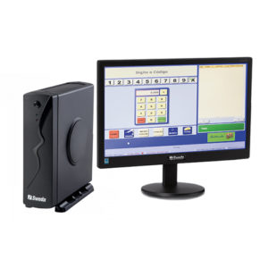 COMPUTADOR SWEDA SP-30 (CELERON J1800, 4GB RAM, 500GB HD ou 120GB SSD, 2 SERIAL + MONITOR 15.6″, MOUSE E TECLADO)